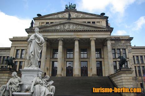 Konzerthaus Berlin en Gendarmenmark