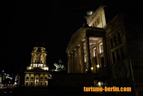 Gendarmenmark, Konzerthaus Berlin y Deutscher Dom