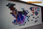 Pintura del muro de Berlín (Ladrillos)