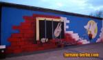 Pintura del muro de Berlín (Paloma de la paz)