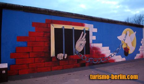 Pintura Del Muro De Berlín Paloma De La Paz De Turismo En Berlin Guia De Viaje