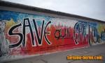 Pintada del muro de Berlín (Save our earth)