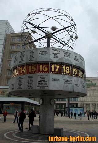 Reloj mundial en Alexanderplatz
